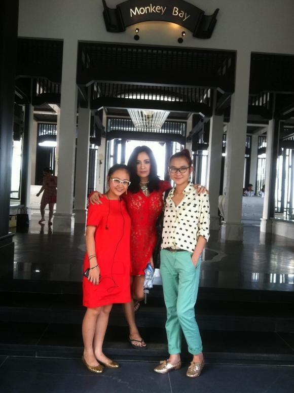 Diva Thanh Lam dang loat anh hiem ngay tre, mung sinh nhat 2 con gai-Hinh-8