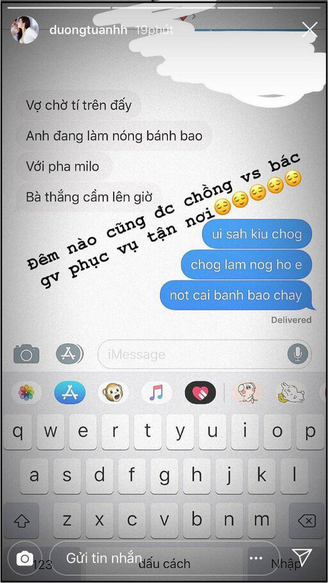 Khong khoe thi thoi, he co dip nhac ve chong la A hau Tu Anh lai khien hoi chi em no mat vi ghen ti-Hinh-3