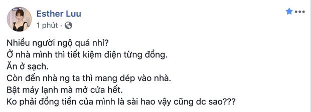 Hari Won dan mat nguoi thieu y thuc den choi nha minh