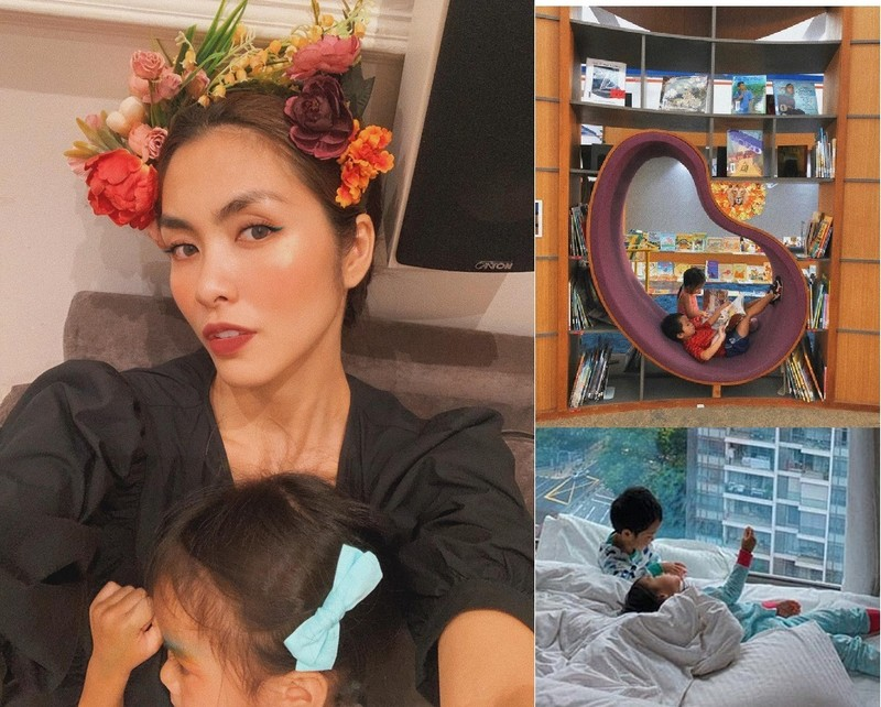 Anh hiem 2 con cua Tang Thanh Ha va Louis Nguyen gay sot-Hinh-4