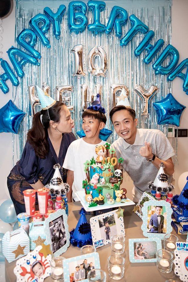 Le Quyen mung sinh nhat con trai Ho Ngoc Ha sau 5 nam im ang