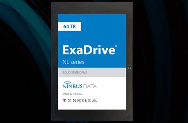 Sieu o cung SSD 64TB nang 454 gr, can hang trieu o SATA hoac SAS