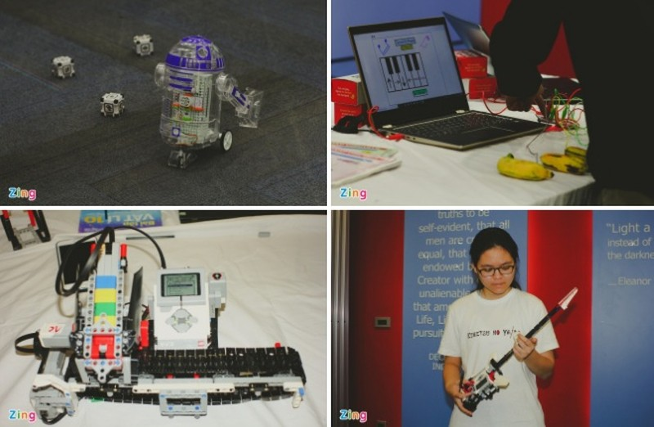 Hoc sinh truong Ams sang tao robot, kinh thuc te ao VR-Hinh-3