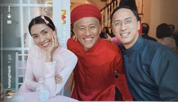 Vo chong Tang Thanh Ha gay sot voi hinh anh trao nhan sinh le-Hinh-2