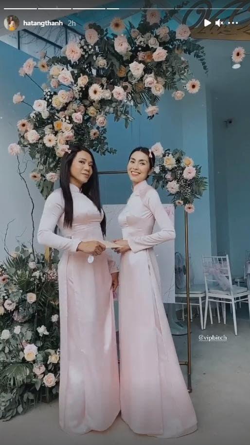 Vo chong Tang Thanh Ha gay sot voi hinh anh trao nhan sinh le-Hinh-3