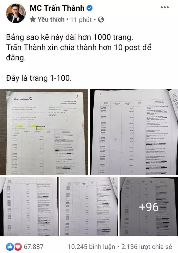 4 thang, Tran Thanh 2 lan bi chat van