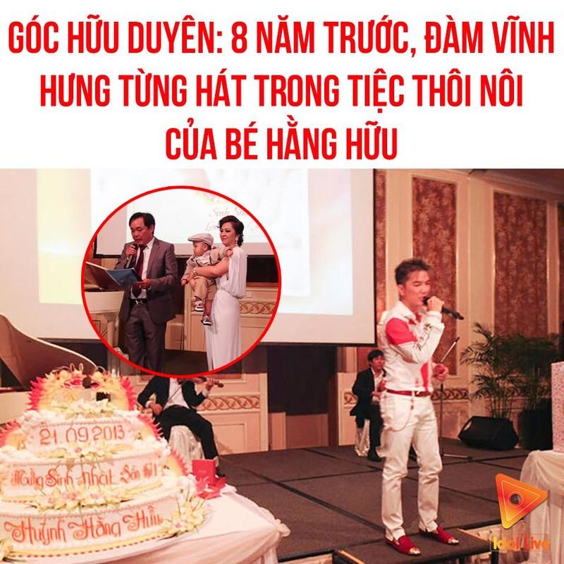 "Dam Vinh Hung mac ""style Fuho"" hat trong tiec ba Phuong Hang"