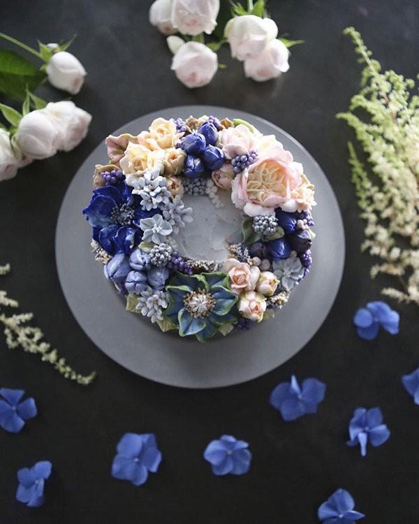 Nhung chiec banh hoa kem bo dep nhuong nay ban co no an khong?-Hinh-8