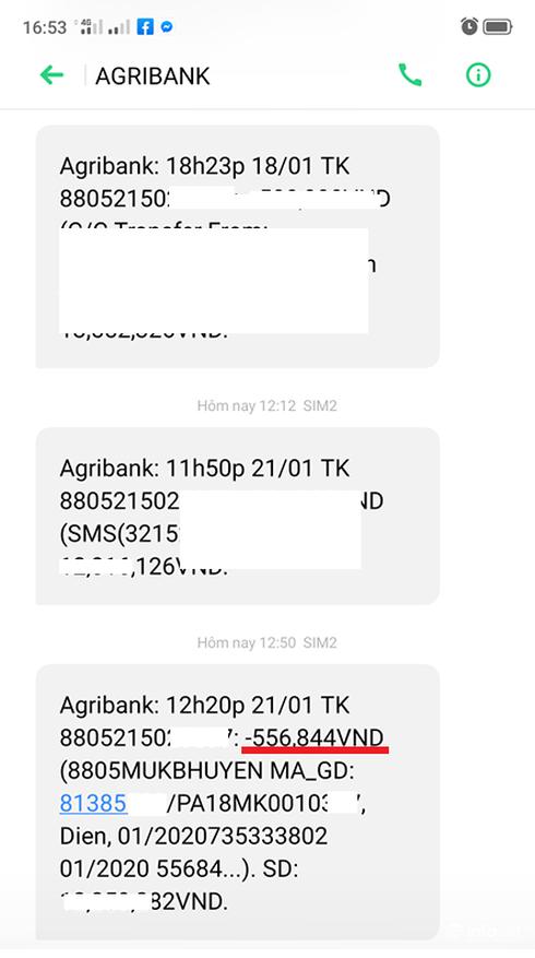 Tru tien dien cua khach hai lan lien tiep, EVN va Agribank do loi cho nhau