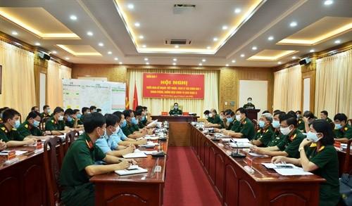 Thanh lap Ban Chi huy lam thoi Phong thu dan su Quan khu 7