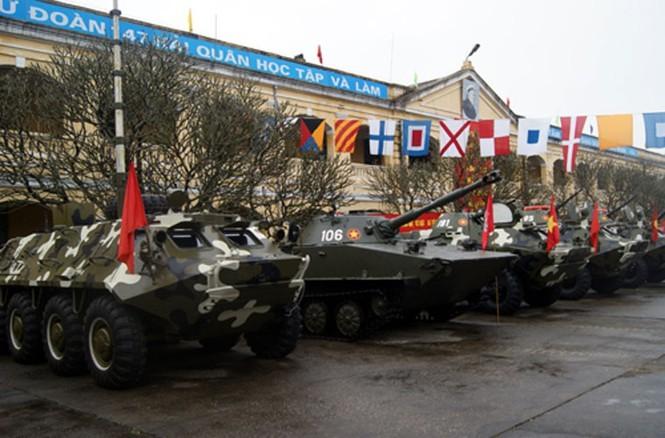 Xe boc thep BTR-60 Viet Nam boi cuc dinh, phoi hop hiep dong tot voi tau do bo-Hinh-10