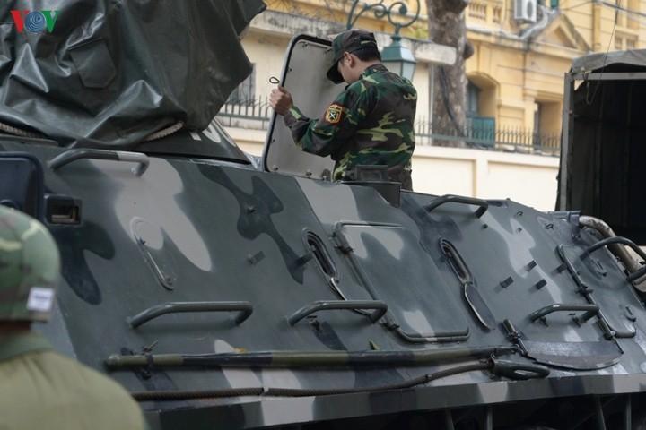 Xe boc thep BTR-60 Viet Nam boi cuc dinh, phoi hop hiep dong tot voi tau do bo-Hinh-14