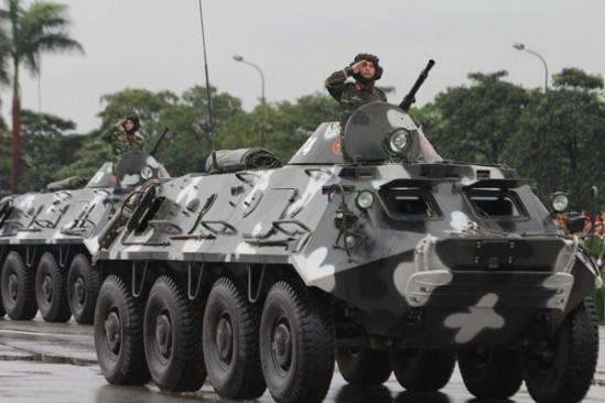 Xe boc thep BTR-60 Viet Nam boi cuc dinh, phoi hop hiep dong tot voi tau do bo-Hinh-5