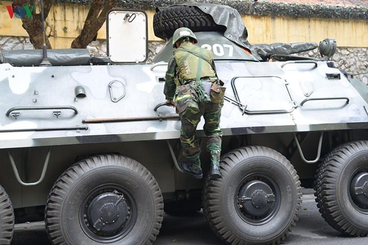 Xe boc thep BTR-60 Viet Nam boi cuc dinh, phoi hop hiep dong tot voi tau do bo-Hinh-8
