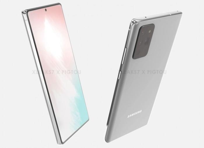 Lo thiet ke chi tiet Galaxy Note20 tu ong lon cong nghe Samsung
