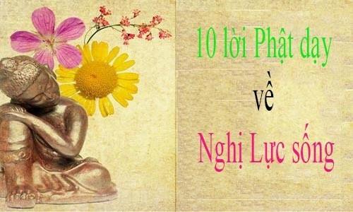 "10 loi Phat day se mang lai ""nghi luc"" cho bat ki ai"