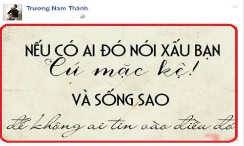 Truong Nam Thanh ngoai tinh, fan se khong phan ung the nay?-Hinh-2