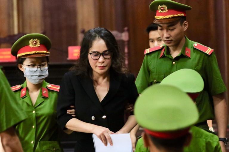 Vu an ong Nguyen Thanh Tai: Ba Le Thi Thanh Thuy khang cao keu oan
