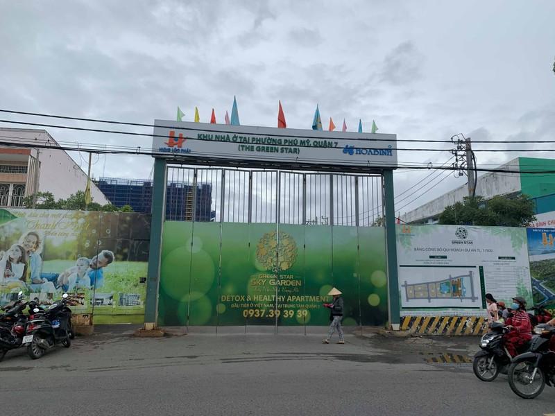 110 biet thu Green Star Sky Garden cua Hung Loc Phat xay lui, HoREA noi gi?
