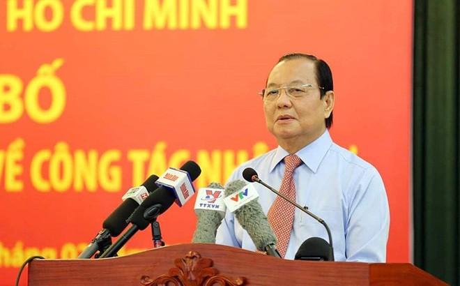 Xem xet ky luat nguyen Bi thu Thanh uy TP HCM Le Thanh Hai