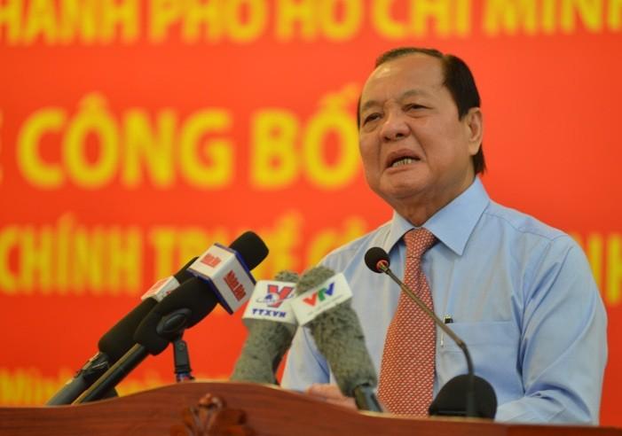 Nguyen Bi thu TP HCM Le Thanh Hai, nguyen Chu tich TP HCM Le Hoang Quan bi de nghi ky luat