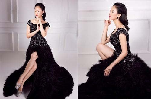 A hau Ha Thu lam giam doc quoc gia Miss Intercontinental