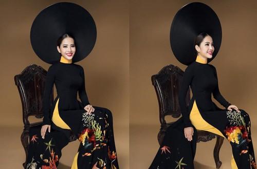 Hoa khoi Nam Em dep kieu sa trong trang phuc ao dai-Hinh-4