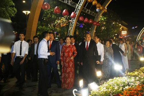 Chuyen chua tung xay ra tren duong hoa Nguyen Hue