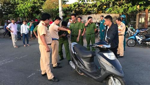 Dau long thai phu bi xe tai can tu vong o TP HCM-Hinh-2