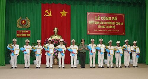 Dieu dong cong tac Truong Cong an huyen dao Phu Quy