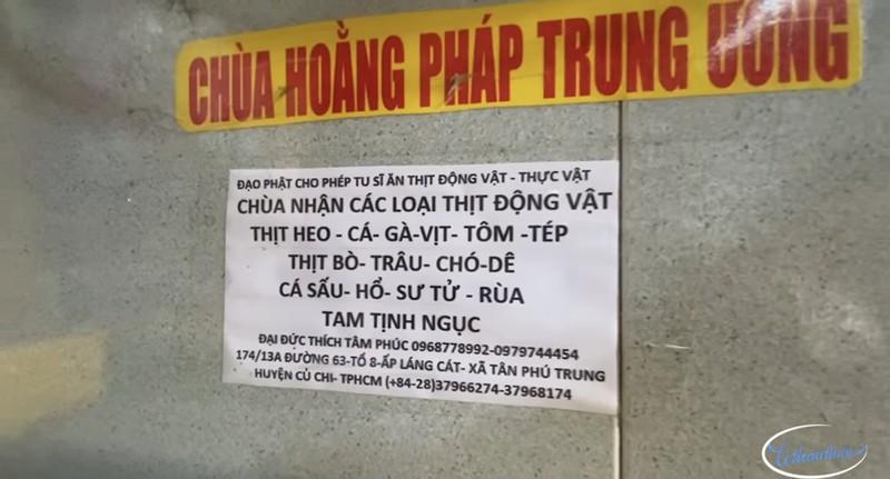 "Su that ve ""ngoi chua nhan thit song cho, ho, su tu…"" o Sai Gon-Hinh-2"