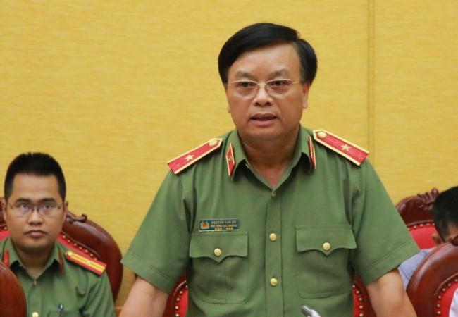 Bo Cong an thanh tra qua trinh dong tau cua Nam Trieu