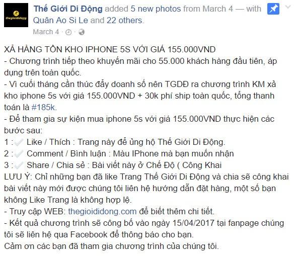 Dien may xanh bi gia mao fanpage xa hang ton kho gia beo-Hinh-4