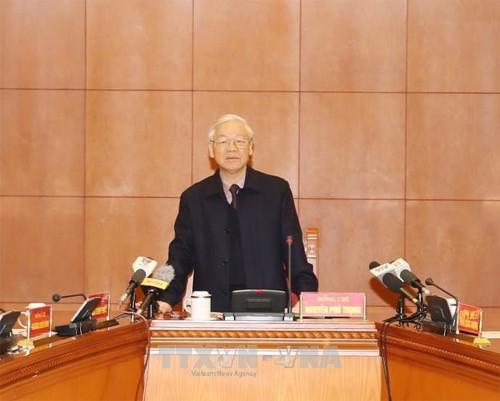 Tong Bi thu: Tap trung xet xu cong minh vu an Trinh Xuan Thanh va dong pham