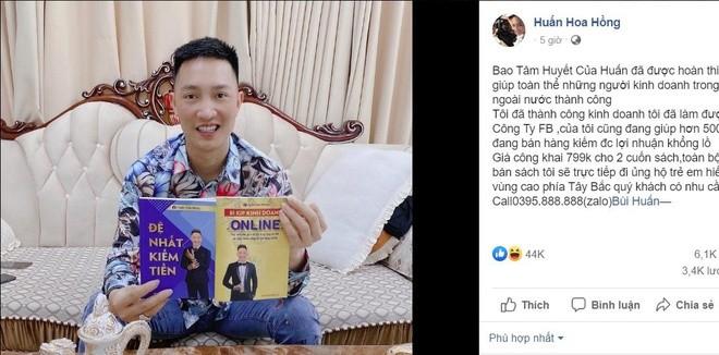 "Nghi van sach lau cua Huan ""Hoa Hong"" bi"