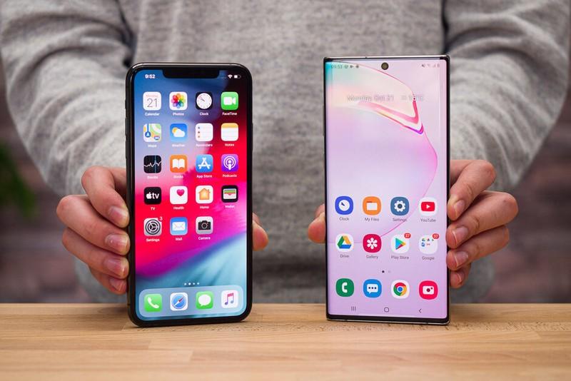 Top 5 smartphone co pin khung nhat nua dau 2020