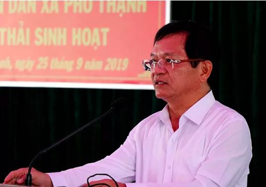 Bo Chinh tri ky luat canh cao Bi thu Tinh uy Quang Ngai Le Viet Chu