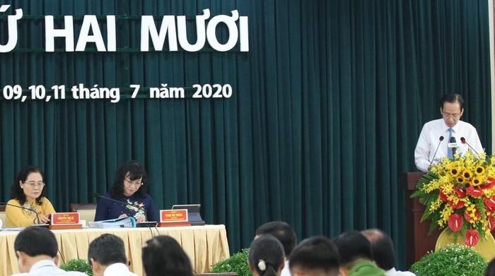 Ong Tat Thanh Cang du hop HDND TPHCM