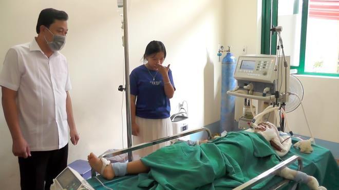 Ha Giang: Hai ong chau nam bat tinh tren vung mau, nghi bi sat hai