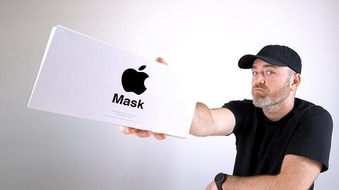 Can canh khau trang cua Apple do nhom thiet ke iPhone thuc hien