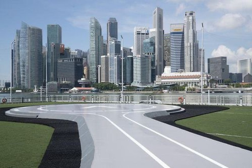 Singapore la quoc gia dau tien tren the gioi trien khai taxi bay?