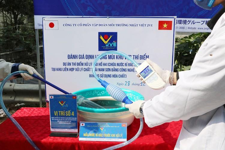 He thong xu ly mui cong nghe Nhat vua duoc lap dat tai Nam Son-Hinh-2