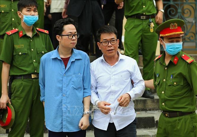 Nguyen Pho Chanh an Nguyen Hai Nam linh an 17 thang tu