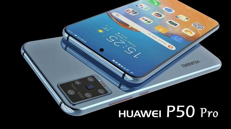 Man hinh Huawei P50 Pro se nho gon hon, camera duc lo