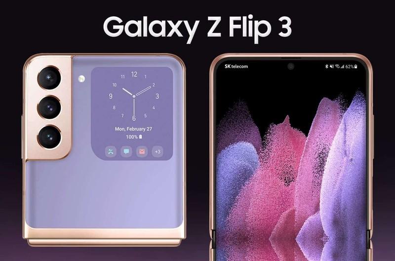 "Galaxy Z Flip 3 ""lo dien"" quyet so tai cung Galaxy Z Fold"