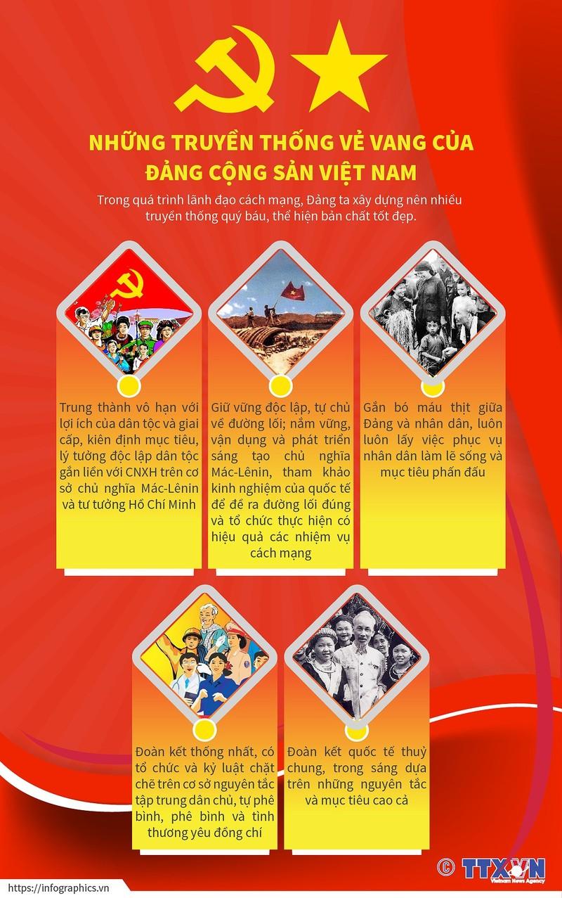 Nhung truyen thong ve vang cua Dang Cong san Viet Nam