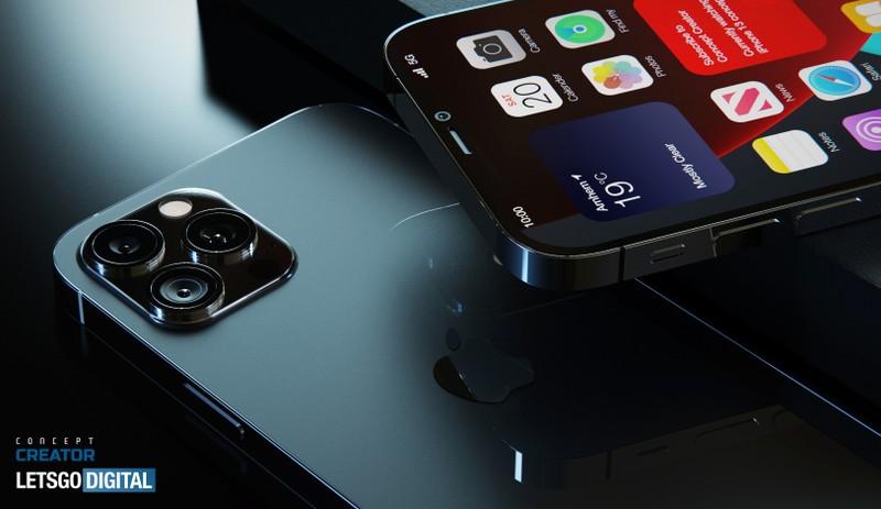 iPhone 12s Pro lo anh render khong thay doi so voi tien nhiem-Hinh-2