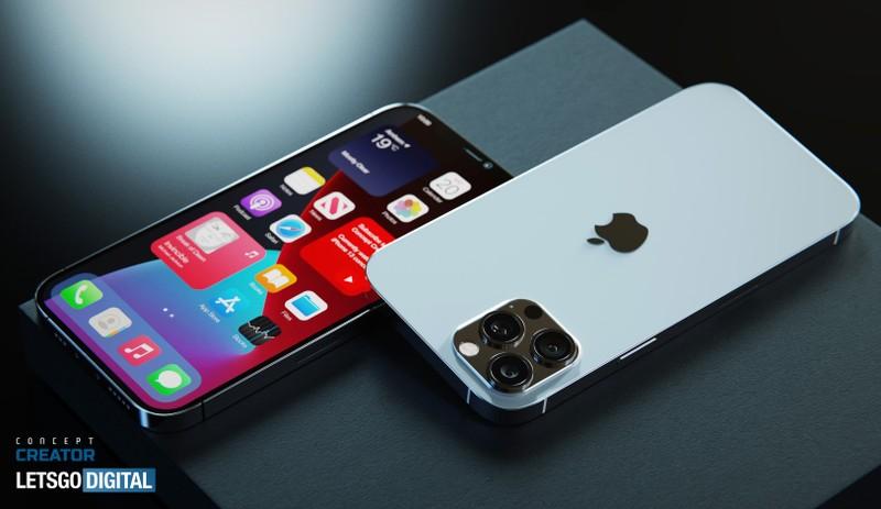 iPhone 12s Pro lo anh render khong thay doi so voi tien nhiem