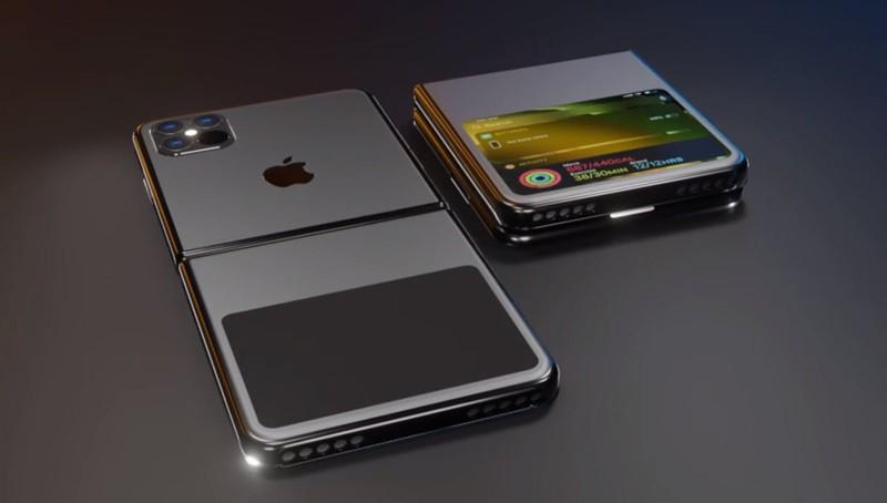 Smartphone man hinh gap cua Apple co the mang ten iPhone 12 Flip