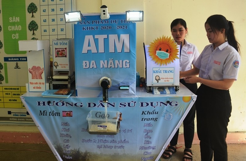 May ATM gao bat ngo